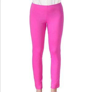 Gretchen Scott gripeless pink elastic waist pant-S